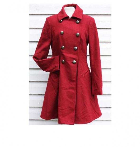 Płaszcz z wełną Next