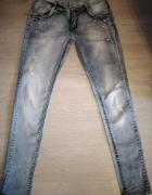 Jeansy spodnie roz 38...