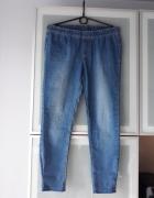 Spodnie jeansowe rurki rozmiar M...