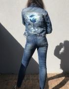 Kurtka jeansowa custom......