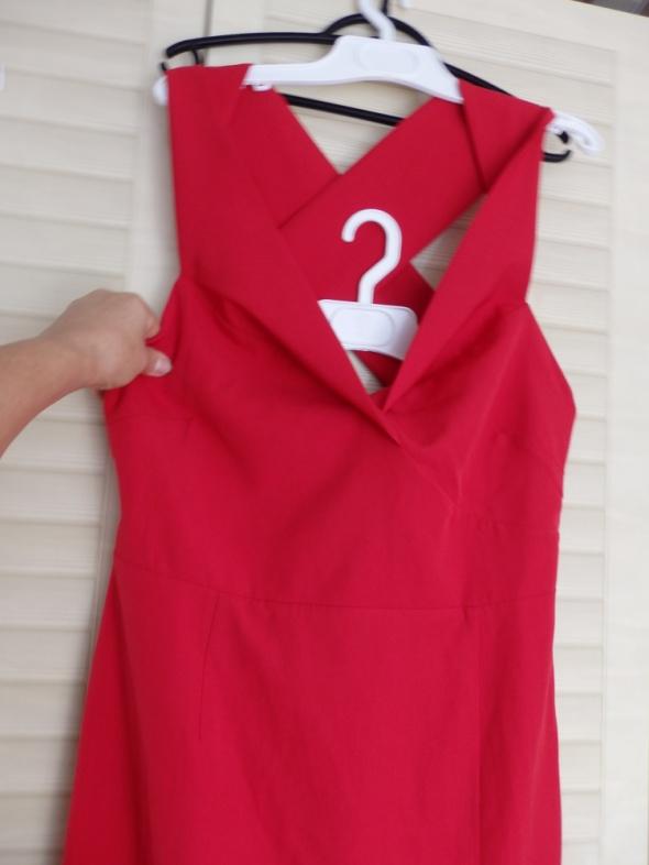 sukienka czerwona wyjątkowa