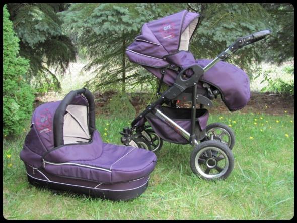 Wózki i foteliki Wózek 2 w 1 spacerówka i gondola Camarelo Q12 stan bdb