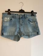 Krótkie jeansowe spodenki TERRANOVA rozmiar S stan idealny...