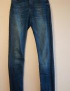 Długie spodnie jeansy rurki ONLY...