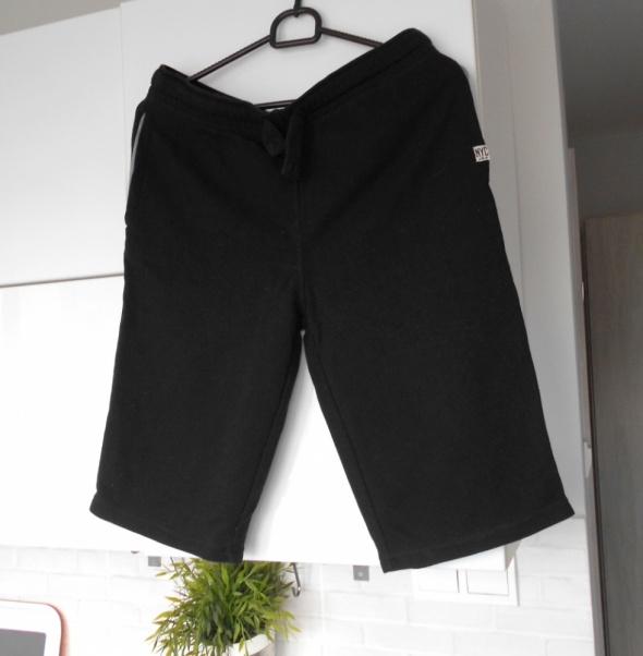 Spodenki CA czarne szorty dresowe spodenki sportowe