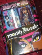 Monster High Super PUZZLE 3D trójwymiarowy obraz...