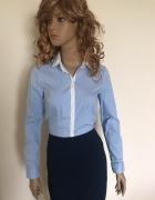 Niebieska koszula H&M...