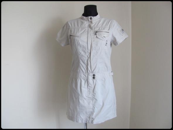 Szmizjerka sukienka w stonowanym kolorze 38 M C&A...