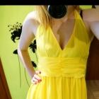 Sukienka żółta piękna new yorker