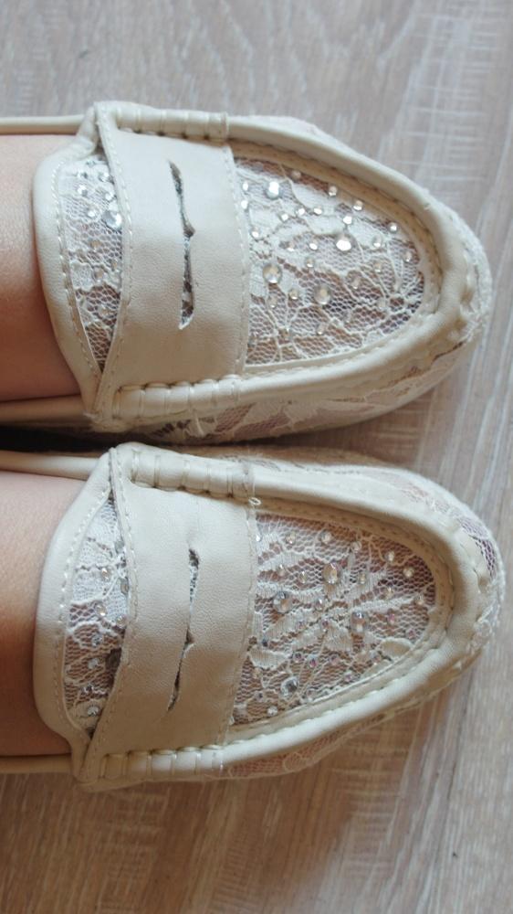 Koronkowe buty...