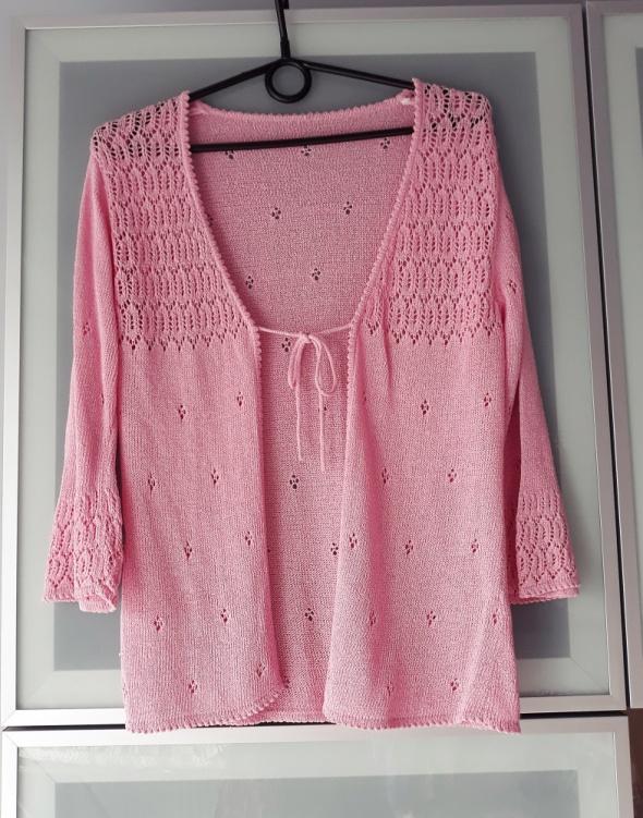 Nowy ażurowy sweterek rozmiar S
