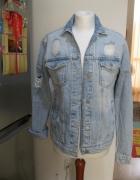 kurtka blogerska jeans katana NEW LOOK S M skinny...