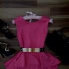 HIT Prześliczna Bluzka Pink Baskinka Tren