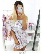 Sukienka mini hiszpanka falbany rozmiar SM...