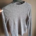 Cienki krótki sweterek crop top river island 10