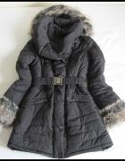Kurtka zimowa płaszcz dla zmarźlucha 38 M BARDZO ciepła...