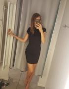 Nowa z metkami czarna sukienka boohoo s