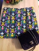 Spódniczka mini kolorowa z zamkiem H&M...