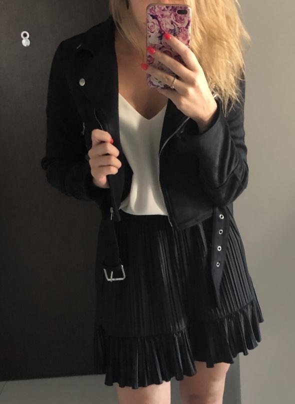 Spódnice Zara plisowana mini nowa 36