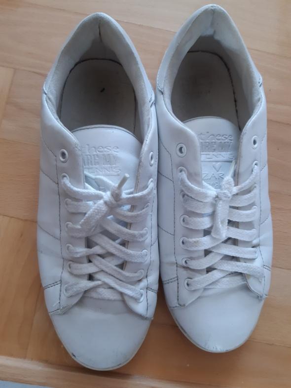 Adidasy białe Zara...