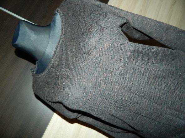 DIVIDED BY H&M luźny sweter kieszonka roz 36