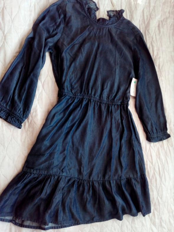 Suknie i sukienki SUKIENKA JEANS C&A LYOCELL 36