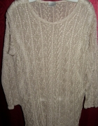 Next ażurowy sweter plus size XXL...