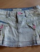 Zara TRF spódniczka mini jeans XS size 36...