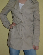 Płaszcz trencz Esprit stylowy S M...