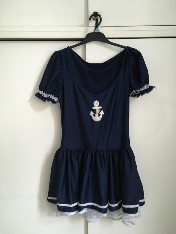 sukienka na bal przebierańców sexy pani marynarz