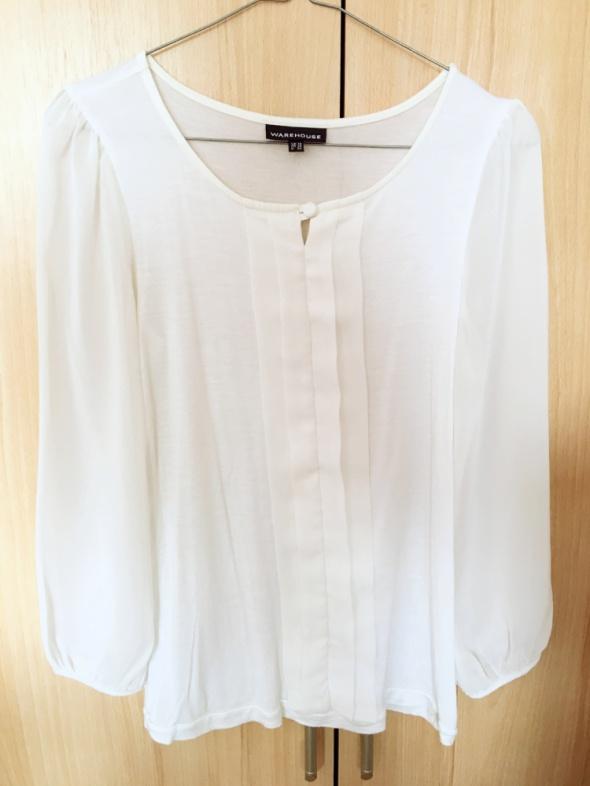biała elegancka bluzeczka...