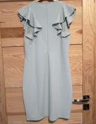 Miętowa sukienka Mohito r L...