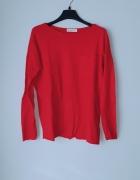 Idealny czerwony sweterek M...