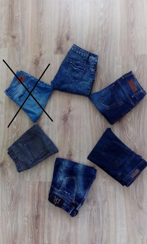 Spodnie jeansowe 10 zl...