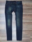 144 Sposnie Jeansowe Jeansy rozmiar 30 30...