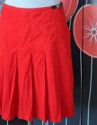 276 LAURA ASHLEY sztruksowa spódnica czerwona 38...