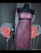 1013 modna elegancka sukienka M