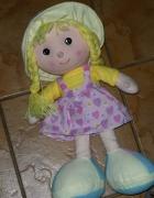 duża lalka szmacianka JAK NOWA...