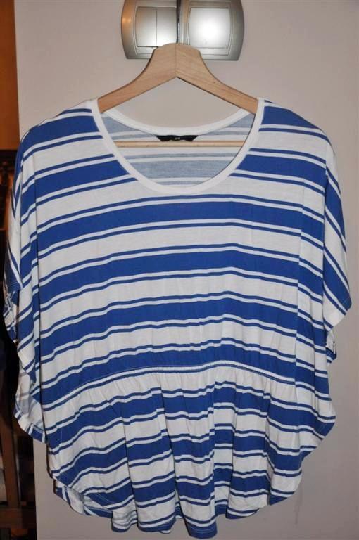 bluzka H&M 46 w niebieskie paski
