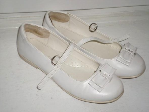 rozm 33 białe buty sandałki KOMUNIA...