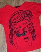 rozm 122 GEORGE bluzeczka z dziewczynką...