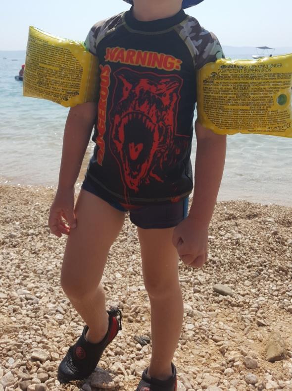 Bluzki Bluzeczka kąpielowa na suwak lato basen