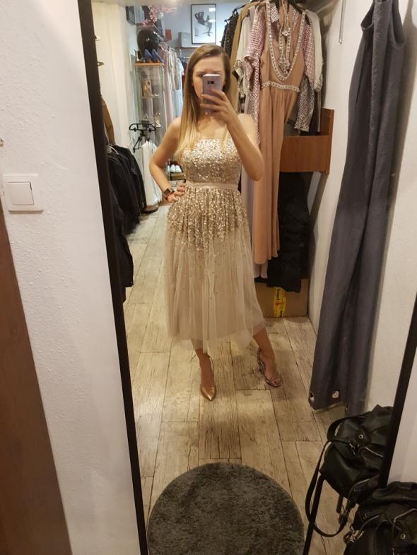 Cekinowa sukienka ASOS rozm 36...