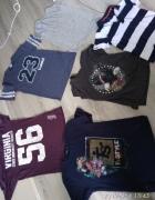 zestaw koszulek mam ok 30 sztuk rozmiar M...