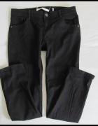 Next czarne spodnie jeansy skinny 42 XL...