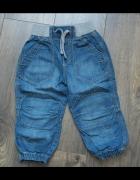 Modne spodnie dżins 92...