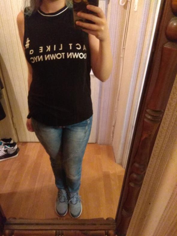 Koszulka na ramiączka czarna rozmiar M...