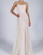 Sukienka wizytowa ozdobne wiązanie S M L XL...