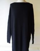 Sukienka Czarna Oversize L 40 KappAhl Luzna Pracy...