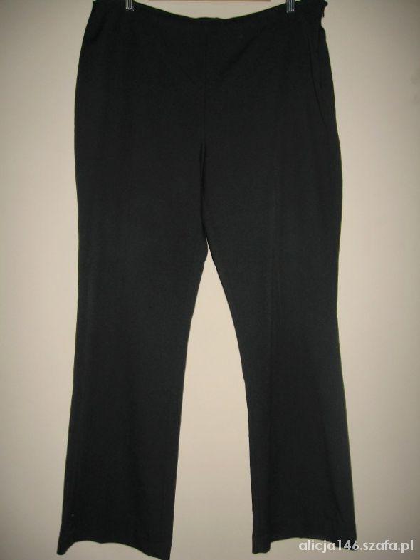 Papayaczarne spodnie plus size rozm 46 XXXL